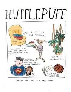 """I love this! """"Close to the kitchens""""! Lucky, lucky Hufflepuffs. How I wish I was sorted into Hufflepuff instead."""