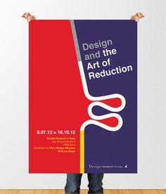 Vitra Design Museum - Poster by Alice van Marcke, via Behance
