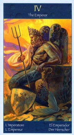 The Emperor - Tarot of Mermaids