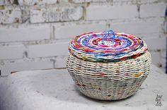 Vrac, Panier série COULEURS PEROU est une création orginale de Barborka-Dizajn sur DaWanda