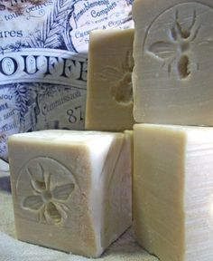 *French Inspired, orange blossom scented, rustic milk and honey soap.