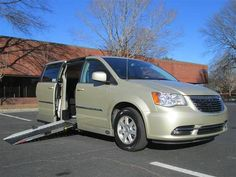 2012 Chrysler Town & Country Touring Handicap Wheelchair Van - On Sale!