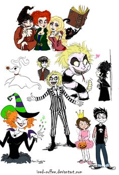 halloween movies by ~iced-coffee on deviantART