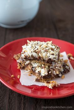Chocolate Coconut Pecan Magic Cookie Bars - Inspiration Kitchen