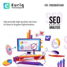 SEO Ranking Analysis, We provide high quality services of Search Engine Optimization.