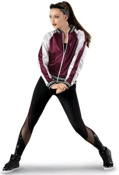 Current dancewear and an incredible leotards, swing transfer, touch and party trainers, hip-hop attire, lyricaldresses. Hip Hop Dancer Outfits, Hip Hop Outfits, Dance Outfits, Ropa Hip Hop, Cute Dance Costumes, Jazz Shoes, Pose, Satin Bomber Jacket, Ladies Dress Design