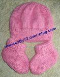 Tuto bonnet bébé au tricot