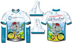 The Barra Bikers - team clothing by SprintDesign.