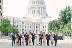 Tyson + Libby – Madison Club Wedding | Photographs by Jenna Leigh