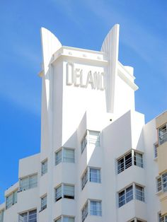 Overnight stay at The #Delano, Miami Beach, during our Winter #Excursion to #Islamadora!
