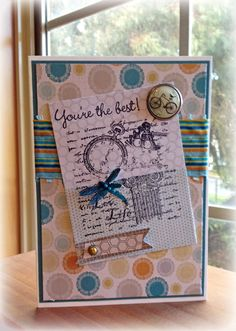 Dragonfly Collage by thistlecat - Cards and Paper Crafts at Splitcoaststampers