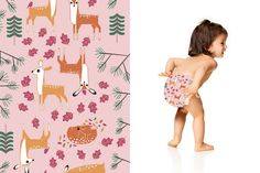 Honest Diapers in Deer Family | honest.com/baby/honest-diapers
