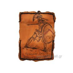 In this tobacco pouch is printed the varrior Leonidas from the ancient Sparta. The pouch has internal pocket for the tobacco package as zip pouch for filters and lighter. The dimension is X and close with a rope. Ancient Sparta, Smokers, Cool Gifts, Lighter, Filters, Pouch, Gift Ideas, Pocket, Zip