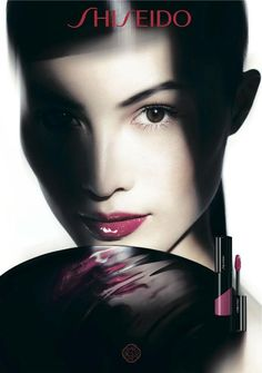 Sui He by Nick Knight for Shiseido, Spring/Summer, 2014.