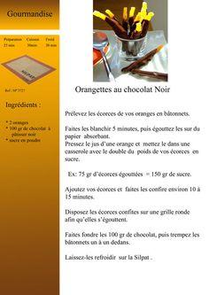 Orangettes au chocolat noir Moule Mini Tartelette, Papier Absorbant, Drink Photo, English Food, Biscuits, Desserts, Shapes, Illustrated Recipe, Candy Bars