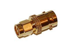 SMA Male Plug to BNC Female Jack Adapter Ham Radio, Gold Old Cell Phones, Ham Radio, Plugs, Female, Gold, Corks, Ear Plugs