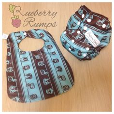 Handmade Cloth Diapers & More! Visit Rueberry Rumps on Facebook to order!