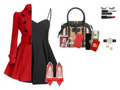 """""""Dream Work Outfit/Tuesday"""" by moseleym ❤ liked on Polyvore featuring Glamorous, Kate Spade, Burberry, Sur La Table, MICHAEL Michael Kors, Rimini and NARS Cosmetics"""