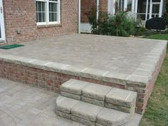 Thin Patio Pavers Over Concrete