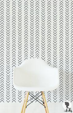 15% OFF Scandinavian Design Arrow Wallpaper / Regular or removable wallpaper L332 by LivettesKIDS on Etsy https://www.etsy.com/uk/listing/466326840/15-off-scandinavian-design-arrow