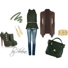 Green Goddess, created by shauna-rogers on Polyvore