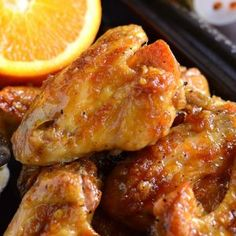Spicy Orange Chicken Wings - Will Cook For Smiles