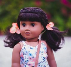 Melody  #agigdocchallenge I can't wait to go to American Girl and see all the newly released items in person! I'm hoping to possibly bring home two new lovely girls into the kamfam