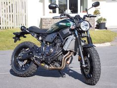 Yamaha XSR700 scrambler Tracker Motorcycle, Cafe Racer Motorcycle, Moto Bike, Custom Cafe Racer, Cool Motorcycles, Super Bikes, Custom Bikes, Cool Bikes, Bobber