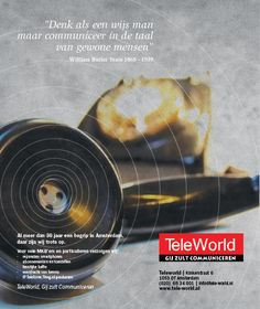 Advertentie Teleworld