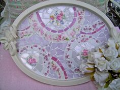 DIY Mosaic tray great site for mosaics how to