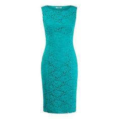Precis Jade Lace Shift Dress