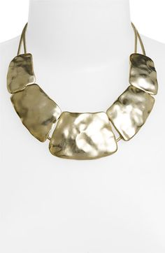 5-Plate Statement Necklace