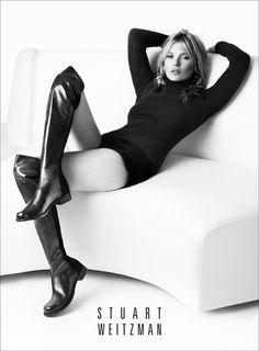 Kate Moss repite para Stuart Weitzman