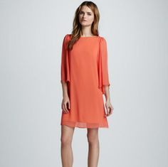 Alice And Olivia Papaya Dress