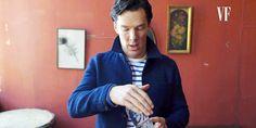 Benedict Does A Magic Trick Vanity Fair Magazine Shoot - November 2016