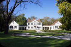Blennerhassett Mansion @ Blennerhassett Island Historical Park. I grew up right by this Island...before the park was made.