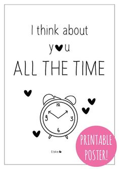 all the time | Elske | printable! | www.elskeleenstra.nl