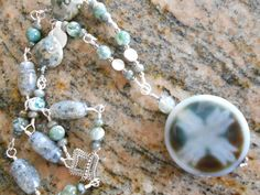 Tree Agate Necklace - pinned by pin4etsy.com
