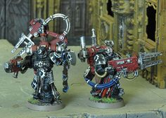 Iron Hands Legion - Awesome techmarines