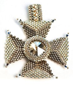 Cross of the Crown Pendant Kit – Beads Gone Wild
