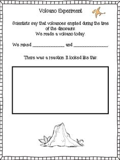 Printable Volcano Fact Sheet  All These Worksheets And Activities