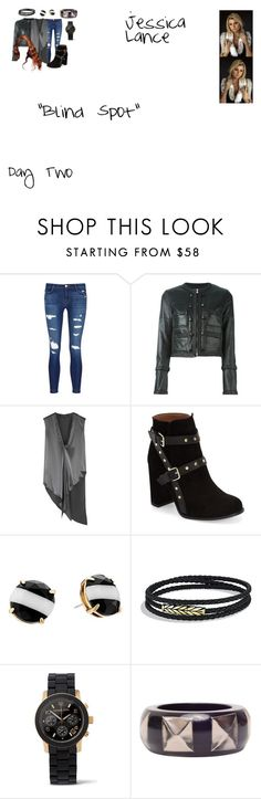 """""""Jessica Lance Sapphire Arrow 2.11 """"Blind Spot"""""""" by mysticfalls1997 ❤ liked on Polyvore featuring J Brand, Givenchy, Baja East, Topshop, Kate Spade, David Yurman and Michael Kors"""