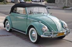 1962 VW Convertible Beetle i would love to buy on of these! love love them!