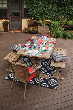 Better Homes U0026 Gardens Mix U0026 Match Outdoor Furniture Outdoor Ideas, Outdoor  Decor, Outdoor