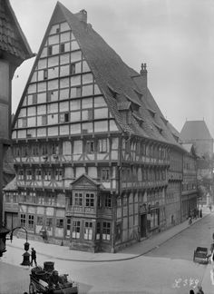 Germany at the end of the 19th century / before WWII - Hildesheim