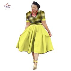 Plus Size Clothing 2017 summer Dress African Print Dress Dashiki For Women Bazin Riche Vestidos Femme Dress Plus Size BRW Short African Dresses, African Print Dresses, African Fashion Dresses, African Dresses Plus Size, African Outfits, Fashion Outfits, African Fashion Designers, African Print Fashion, African Attire
