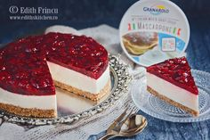 Cheesecake cu visine Cheesecake, Cooking, Desserts, Food, Mascarpone, Kitchen, Tailgate Desserts, Deserts, Cheese Pies