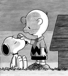 Snoopy and Charlie Brown (friendship) Charlie Brown Y Snoopy, Snoopy Love, Snoopy And Woodstock, Charlie Brown Quotes, Peanuts Gang, Peanuts Cartoon, Charles Shultz, Snoopy Quotes, Film D'animation