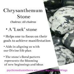 Chrysanthemum crystal meaning