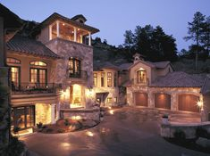 Tuscan Style Home by KGA Studio Architects.